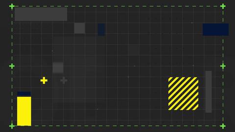 Square patterns Animation