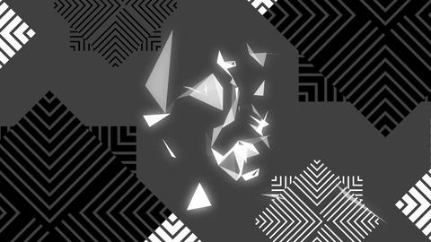 Digital broken glass Animation