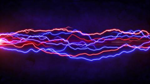 Colorful lightning Animation