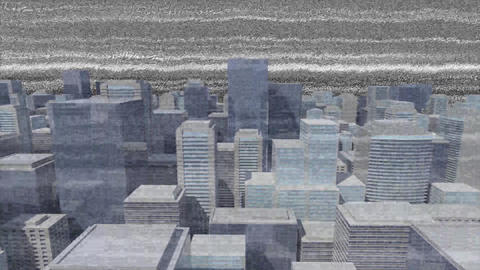 Static and buildings Animation