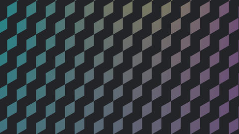 Colorful diamond patterns Animation