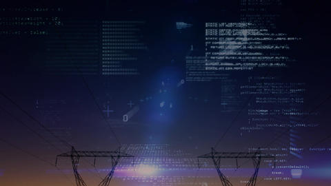 Program codes and binary codes Animation