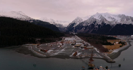 Ship-yard in Alaska Live Action