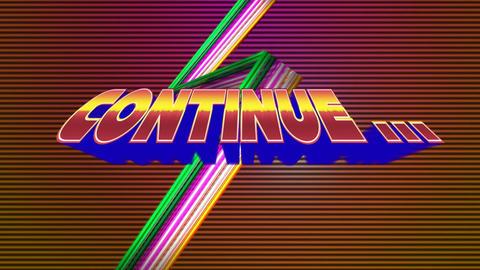 Arcade gaming continue Animation
