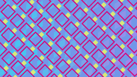 Colorful square patterns Animation