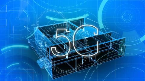 5G internet speed Animation