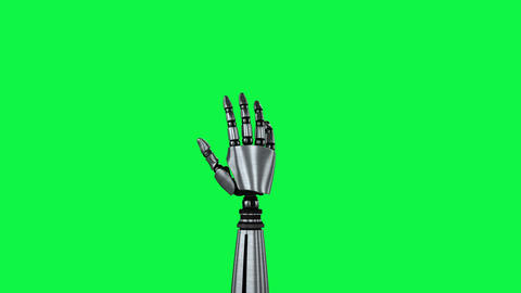 Robotic hands Animation