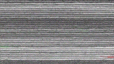 Static noise on a screen Animation
