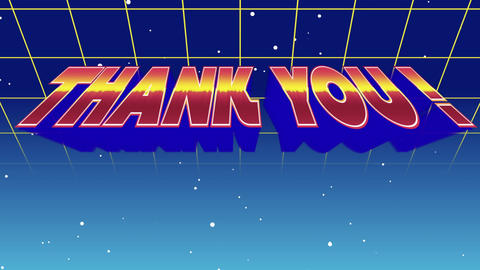 Thank You! Sign Animation
