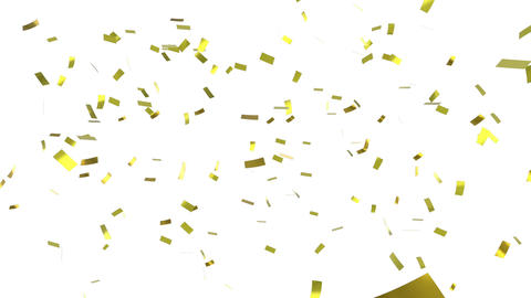 Confetti falling Animation