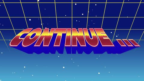 Continue... sign Animation