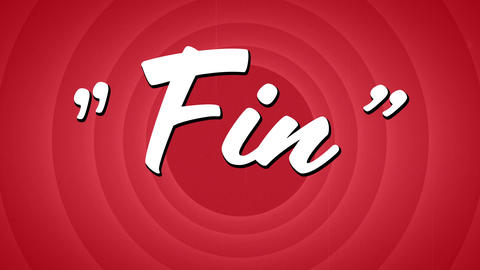Fin text in circle patterns Animation