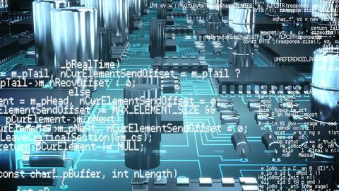 Program codes and digital circuit Animation