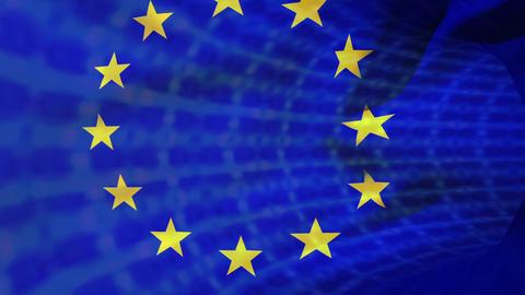 Flag of Europe Animation