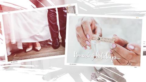 Multiframe Wedding Romantic Slideshow Premiere Pro Template