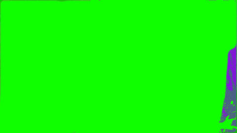 Green and pink paint changing background Animation