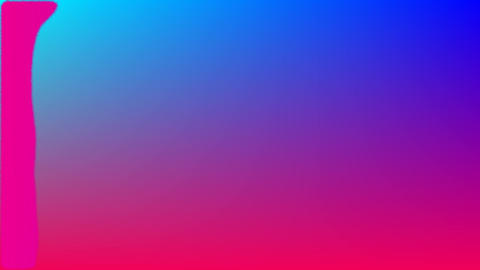 Pink paint over pink and blue background Animation