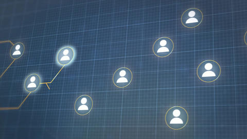 Social network 1 Animation