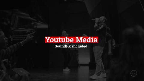 YouTube Media Motion Graphics Template