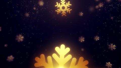 Merry Christmas Snowflakes Background Animation Animation