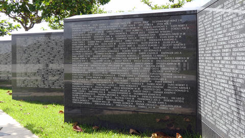 American Soldiers Names At Cornerstone Of Peace In Okinawa Japan Live Action