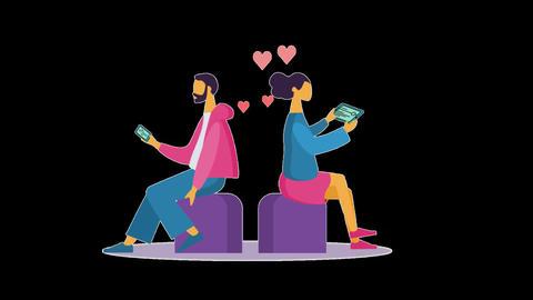 Digital love Animation