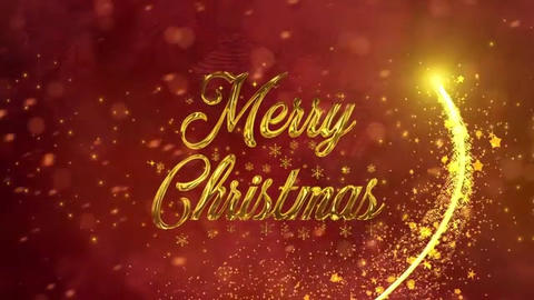 Christmas Holiday Greetings After Effects Template