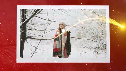 Winter Holiday Slideshow Premiere Pro Template