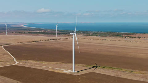 Wind turbine Renewable energy, sustainable development, environment friendly Live Action
