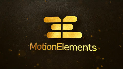 Gold Dust Logo Reveal After Effects Template