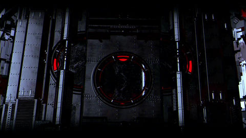 Sci Fi High Tech Dark City (all presets) After Effects Template