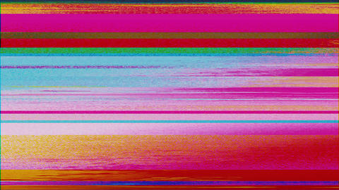 Abstract bad trip, damaged tube tv effect, light transformations glittering Live Action