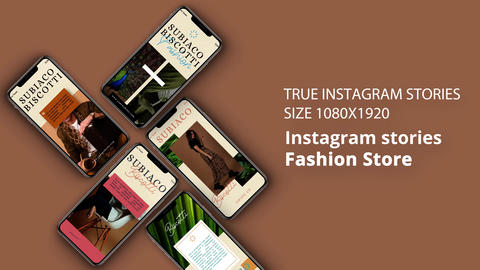 Instagram Stories: Fashion Store After Effects Template