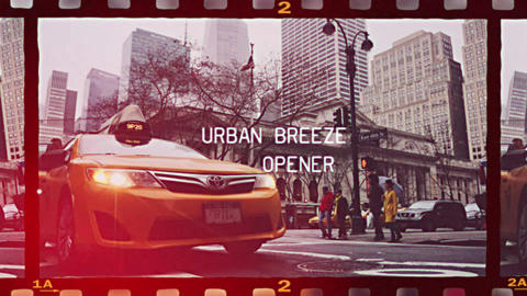 Urban Breeze - Urban Opener Premiere Pro Template