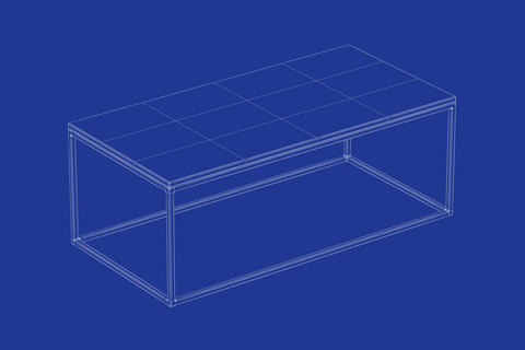 3d model of club table Photo