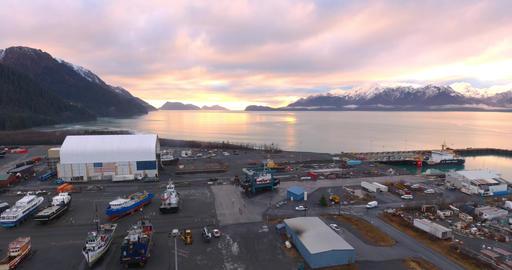 Shipyard in Alaska Live Action