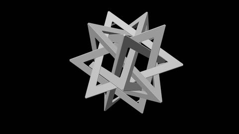 Tetrahedron 5 Star - 3D Printing File 3D Model