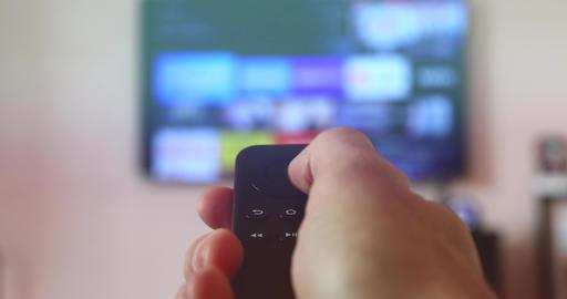 Modern Black Remote Controller Live Action