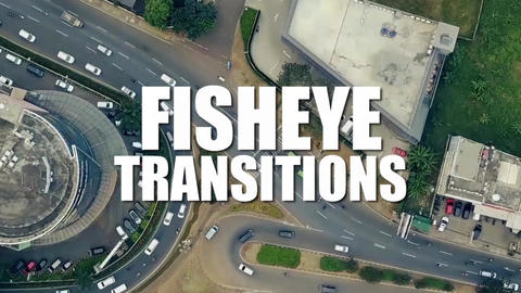 Fisheye Transitions After Effects Template