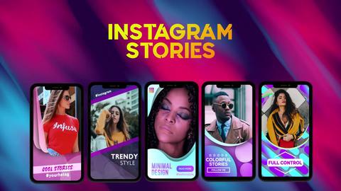 Shape Instagram Stories Plantilla de After Effects