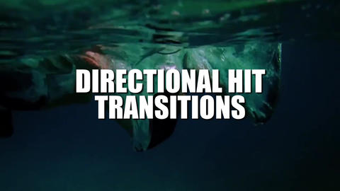 Directional Hit Transitions v 2 Premiere Pro Template
