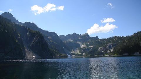 Alpine Lake Time Lapse ビデオ