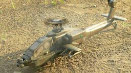 Apache landing 1 Live Action