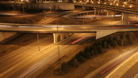St Paul Freeway Time Lapse Footage