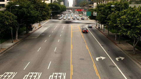 Los Angeles Traffic Time Lapse Footage