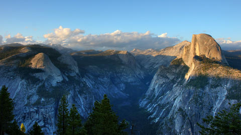 Yosemite Valley Time Lapse Footage