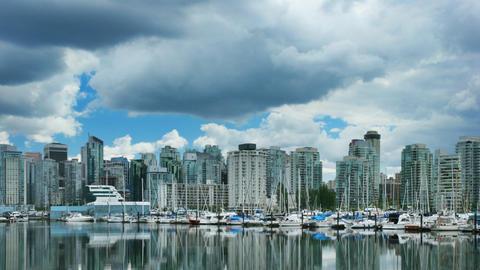 Vancouver Skyline Time Lapse Footage