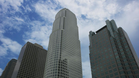Los Angeles Skyscrapers Time Lapse Footage