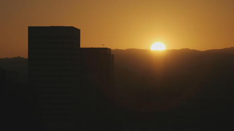 Sunset Buildings Time Lapse Footage