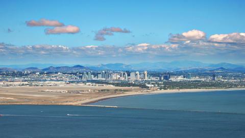 San Diego Ocean Time Lapse Footage
